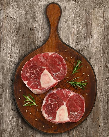 Osobucco Raza Nostra: carnicería a domicilio